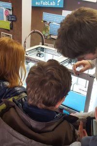 science animation service civique fab lab