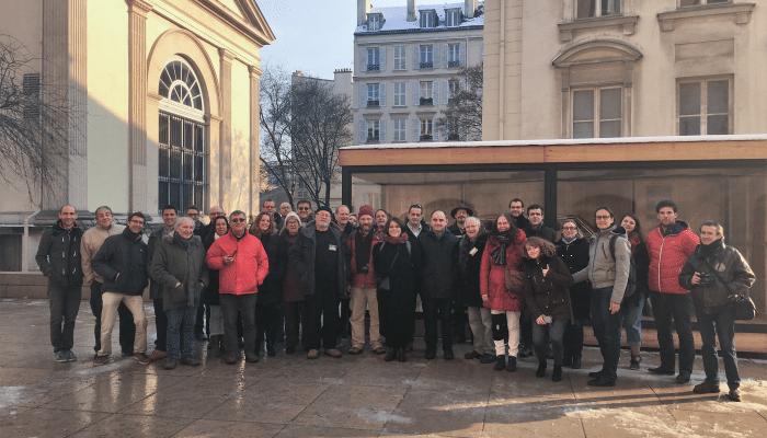 La première formation des formateurs de Vigie-Ciel en février 2018, regroupant de nombreux pôles régionaux et acteurs du réseau Fripon