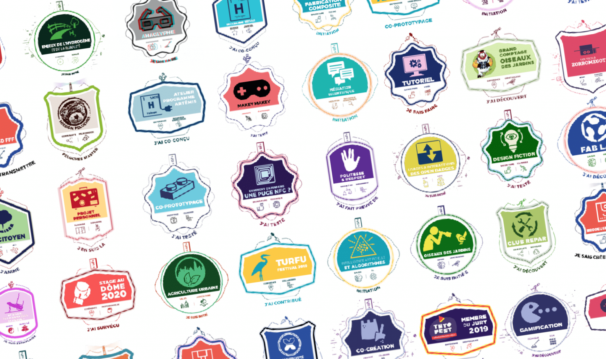 banniere badges