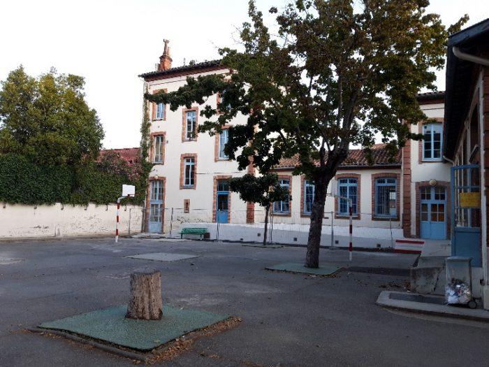 Ecole J. Chaubet (Toulouse). Depuis trois ans, les arbres sont en souffrance en raison des fortes chaleurs estivales et du mauvais écoulement des eaux de pluie aux pieds des arbres. Plusieurs arbres sont déjà morts. Les élèves vont communiquer avec la mairie pour sauver ceux qui peuvent l'être et revégétaliser la cour.