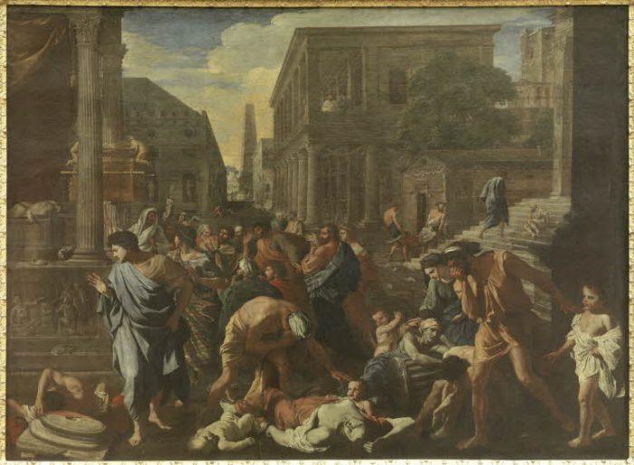 Nicolas Poussin, La peste à Ashdod, 1630 Paris, musée du Louvre