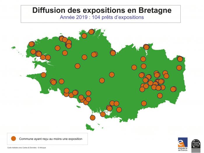 carteEDS-diffusion-expos en Bretagne-2019